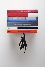 ARTORI Design Supeshelf Super Hero Floating Concealed Book Shelf Metal Bookend