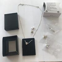 Avon~Silver Plated. Nova Interchangeable Gift Set. BRAND NEW & in a Black Box