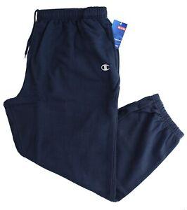 Champion Men's Sweatpants Authentic Athleticwear Gym Pants Big & Tall Small Logo