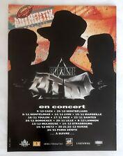 Publicité advert album concert advertising Supreme NTM 1991 tournée française