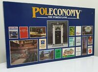 POLECONOMY The Power Game 1983 Woodrush Games Vintage Board Game Contents SEALED