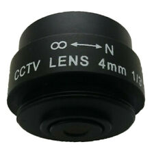 4mm F1.2 CS Mount Lens For CCTV Camera Manual Focus