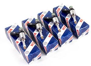 4 New Bosch Audi A4 TT VW Jetta Golf CCTA 2.0T TSI Fuel Injector Set 06H906036AB