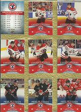 2012-13 UD NATIONAL HOCKEY CARD DAY -  CANADA -  SET 16 HOCKEY CARDS
