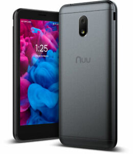 Verizon NUU Mobile A6L 8GB (Black) - Verizon Prepaid Smartphone - MINT