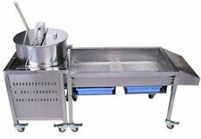 Kettle corn Making Machine with Large sorting Table $2395  Trademark quality.