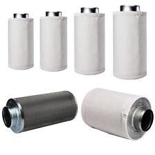 Aktivkohlefilter Carbon Grow Geruchs Abluft Filter AKF Aktiv Kohle versch Größen