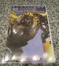 2013 Transformers Spotlight: Bumblebee Variant Comic from Wonder Con NM