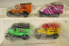 Vintage 4 Kellogg's Cereals MATCHBOX Die Cast Delivery Trucks
