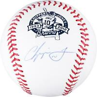 Chipper Jones Atlanta Braves Autographed Retirement Baseball