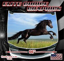 Horse Vinyl Hood Wrap Bonnet Decal Sticker Graphic