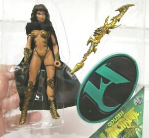 Golden WITCHBLADE Figure & Accessories 1998 Moore Collectibles Loose Original