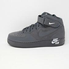Nike Air Force 1 AF1 Mid Retro Dark Grey Suede Sample Rare Mens Size 9