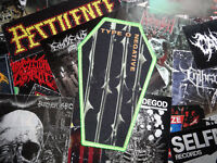 Type O Negative Coffin Patch Import ( Carnivore ) Green Border Ltd Sold Out