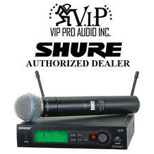 Shure SLX24/BETA58-G4 SLX Series Wireless Microphone System (G4 / 470 - 494 MHz)