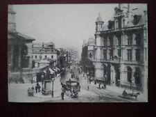 POSTCARD WARWICKSHIRE BIRMINGHAM C1895 NEW STREET FROM THE TOWN HALL