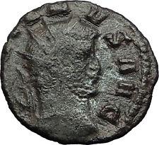 Gallienus Valerian I son 260AD Authentic Ancient  Roman Coin Abundantia i58977