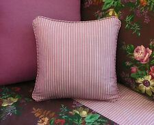 NEW Custom Ralph Lauren Brittany Stripe Throw Pillow