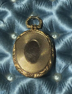 Georgian or Early Victorian Gold Locket