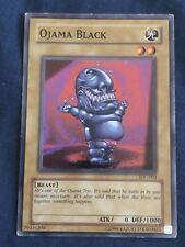 Ojama Black Yugioh Card Genuine Yu-Gi-Oh Trading Card