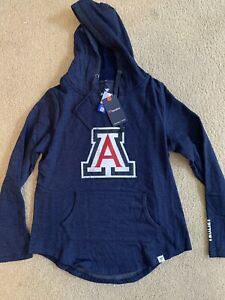Fanatics University Of Arizona Wildcats Hoodie Jacket Women's Size S Small