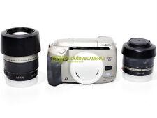 Minolta Vectis S1 reflex autofocus a pellicola APS con zoom 28/56mm. e 56/170mm.
