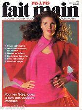 Pas à pas Fait main - n° 12 décembre 1989