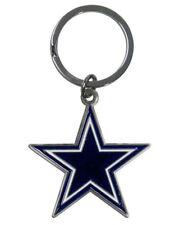Dallas Cowboys Cut-Out Logo Keychain [NEW] NFL Chrome Car Auto Key Chain CDG
