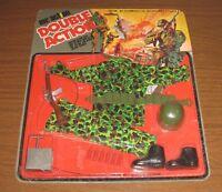 "1970 LJN Toys Mr Double Action 12"" US Marine Outfit MOC New GI Joe Action Man"