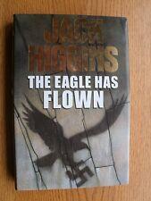 Jack Higgins The Eagle Has Flown SIGNED book plate 1st ed UK HC