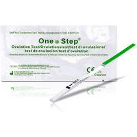 20 Ovulation Test Strips 20miu Ultra Sensitive Home Urine Tests Kit