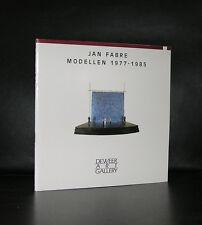 Jan Fabre # MODELLEN 1977-1985 # 1989, mint