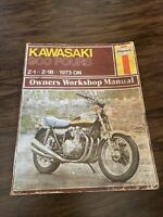 HAYNES KAWASAKI 900 FOURS 1973 OWNERS WORKSHOP Repair MANUAL Rare