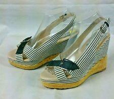 Bumper Women Wedge Sandals Shoes Size 7