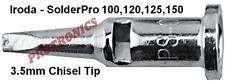 SOLDERING TIP 3.2mm Flat Chisel Suits IRODA SolderPro150 100W 120W 125W Gas Iron