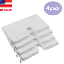 4 Pack Replacement Pads for Shark Steam Pocket Mop Pad S3501 S3601 S3901 S3801