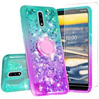 Cover for Nokia C2 Tennen / Nokia C2 Tava Case Hybrid Glitter Diamond Bling