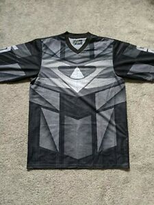 Valken Fate Grey paintball jersey top size large