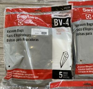 BV-4 Vacuum Cleaner Bags Sanitaire by Electrolux 69370A SC420 Lot 2 Packs-10 bag