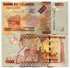 UGANDA 2010 P49 1000 SHILLINGS Banknote x 10 NOTE DEALER/COLLECTOR LOT