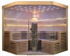 Sauna, Sauna komplett,Massivholz TS 4025 ADC 220/220 Digital & Klassik