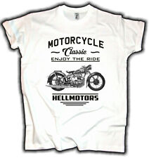 Awo Germany Biker Herren T-Shirt Oldtimer Motorcycle Rocker Oldschool Motorrad