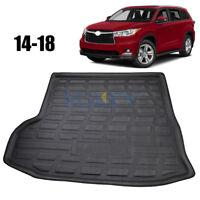 For Toyota Kluger Highlander 14-18 Rear Trunk Cargo Mat Boot Liner Floor Tray