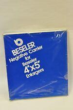 """Beseler #8390 3 1/4 x 4"""" Polaroid negative carrier for model 45/CB7 enlarger.NOS"""