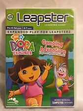 Dora The Explorer Camping Adventure Learning Games Leapster Nick Jr New