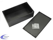Gehäuse WCAH2852 200x110x65 schwarz - Kunststoff Elektro Einbau Gehäuse / Box -