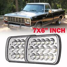 "7x6""inch DOT LED Headlight Lamp Sealed Hi/Lo Beam for Dodge D150 D250 D350 Ram"