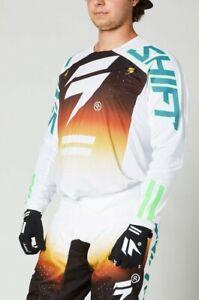 Brand New Shift MX Adult Black Label Lean Motocross Kit Combo Size 34W Large