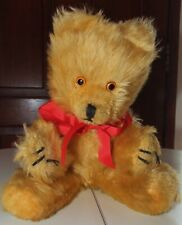More details for vintage pedigree teddy bear, 14 inches. w924