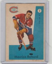 1959 60 Parkhurst #2 Maurice The Rocket Richard Montreal Canadiens Hall of Fame